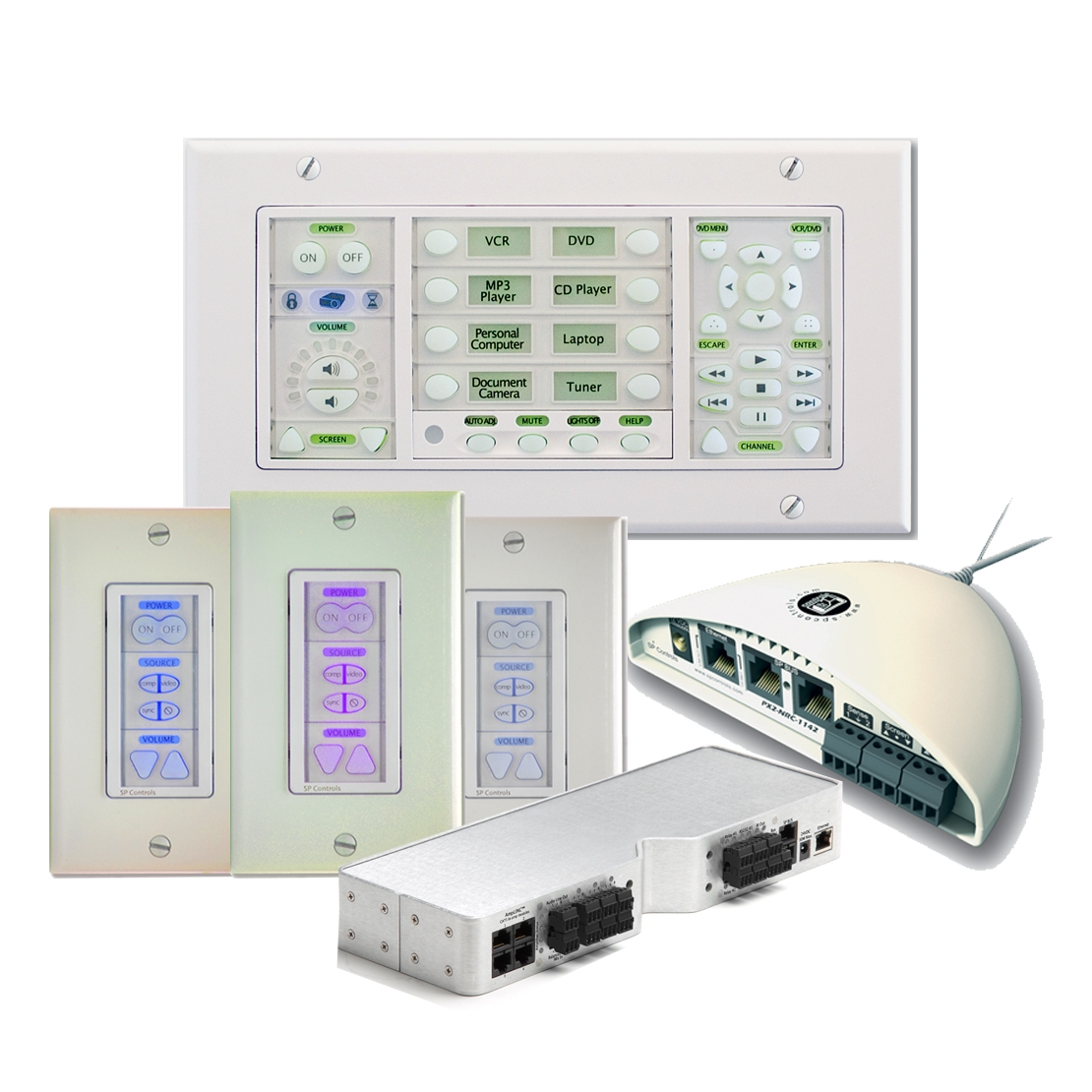 SP Controls - Integrated AV Control System
